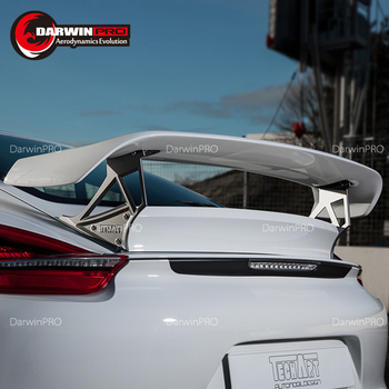 Carbon fiber Trunk Spoiler TA style For 14-16 porsche Boxster 981 Wing Rear Spoiler