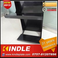 OEM/Custom Metal dinnerware display rack from kindle in Guangdong with 32 Years Experience and High Quality