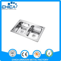 D8650B stainless steel philippines kitchen sink with sink strainer