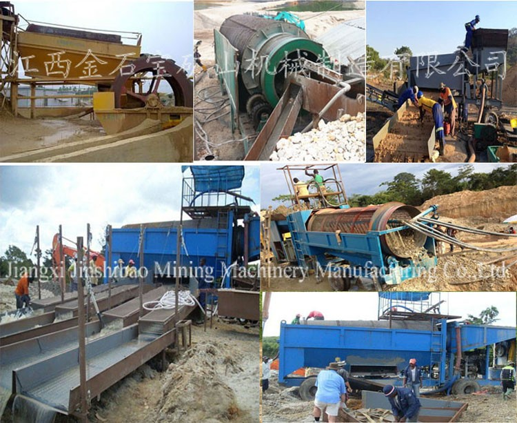 Large Capacity GT Series Mining Alluvial Gold Trommel for Sale, Gold Trommel Screen
