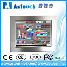 8'' embeded ip65 panel mount touch screen panel pc/industrial computer