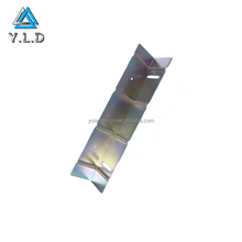 Professional Custom Sheet Metal Stamping, Color Zinc Plating Steel Stamping, Stamping Construction Part