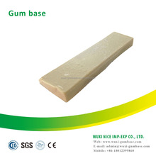 Ball bubble gum raw material Rubber base for production