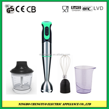 Electric hand blender & stainless steel housing material hand blender set HB-718 700w