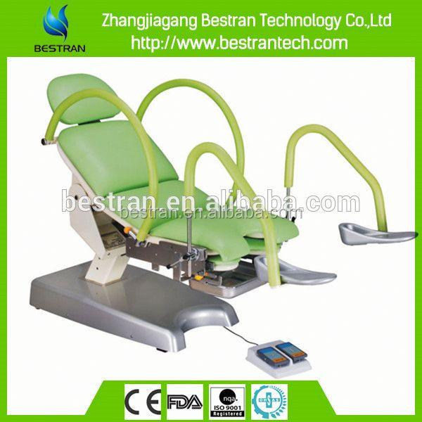 BT-GC005B China gynecology equipment linak motor control antique medical examination table manufacture