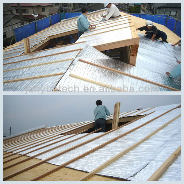 wholesale price bubble foil heat insulation road underlay vapor barrier