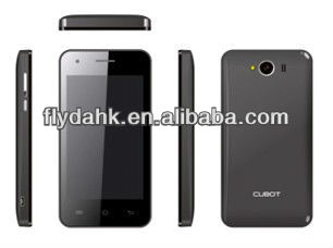 MTK6572 smart phone cubot GT72 with 4.0 inch.