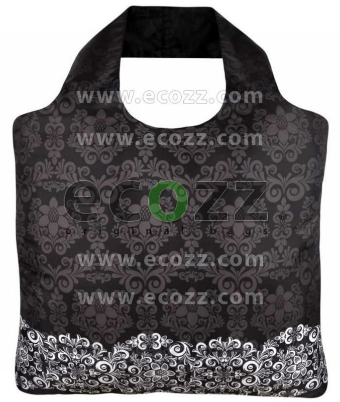 Reusable shopping bag ECOZZ Black & White 1