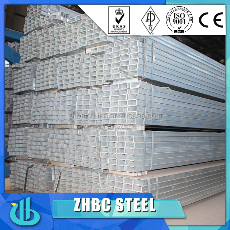 Trending hot products square galvanized steel pipe for furniture,tent,guardrail