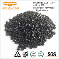 Black Material Plastic Pellets Recycled Hips Granules HIPS