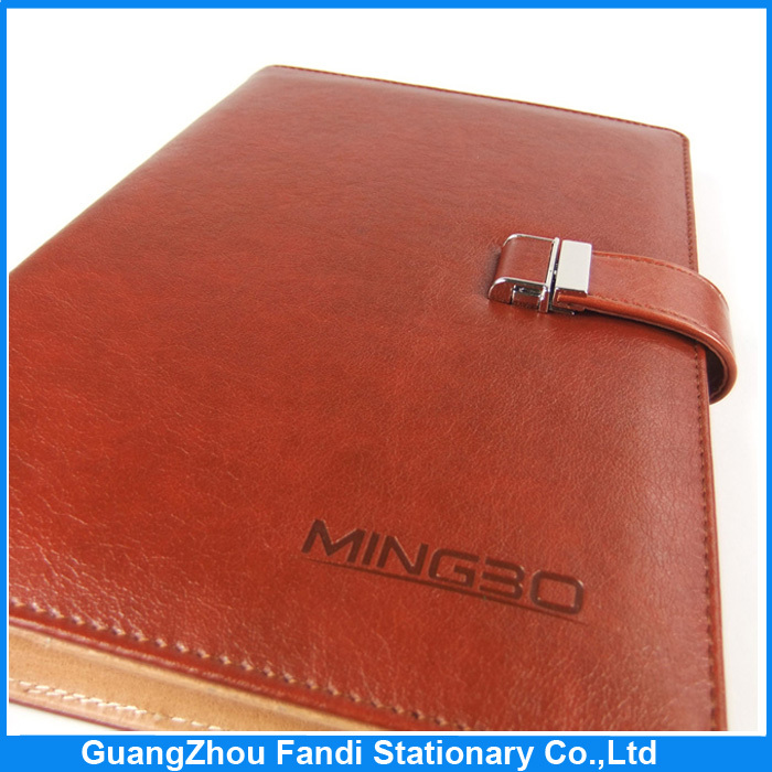 Alibaba best hardcover leather notebook agenda printing