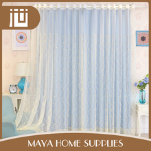 Cheap personalized household luxury chiffon chinese door curtain