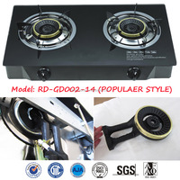 RD-GD002-14 Double Burner table top gas cooker