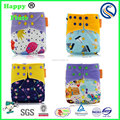 Happy Flute Adjustable One Size Pocket Cloth Diaper washabe baby diaper