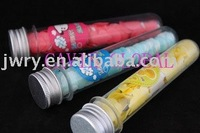MANY KINGS OF SHAPES SCENTED PAPER SOAP IN PVC TUBE