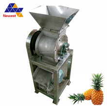 Vegetable crusher equipment /fruit juice squeezing machine /price of industrial fruit crusher machine