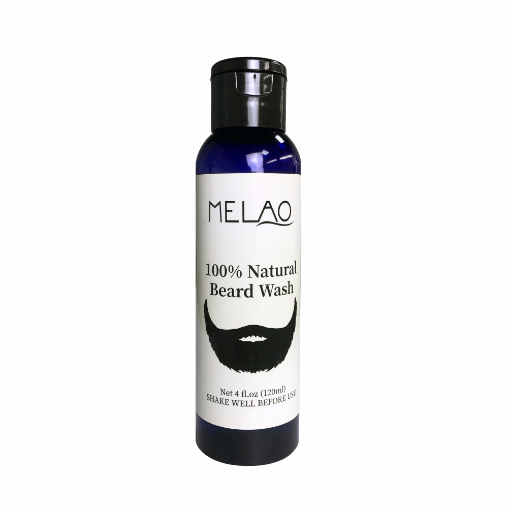 Melao Wholesale Mens Beard Shampoo Wash Infused with Aloe Vera, Tea Tree and Jojoba Oil for Nourishing