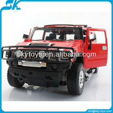 Fine Quality 1:24 Licensed Alloy Hummer H2 4CH RC Car