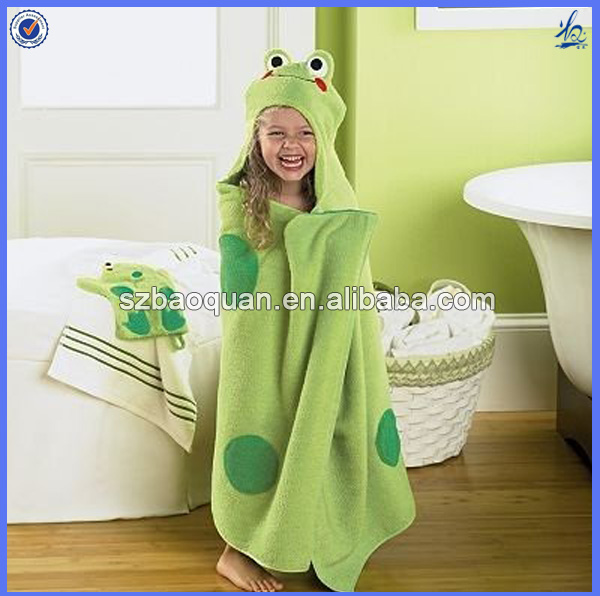 Toalla Baño Infantil:Kids Animal Hooded Bath Towel