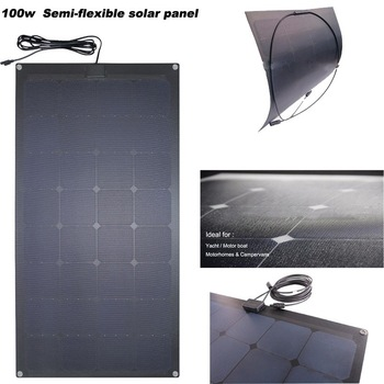 ETFE flexible solar panel marine sunpower flexible solar panel 100w