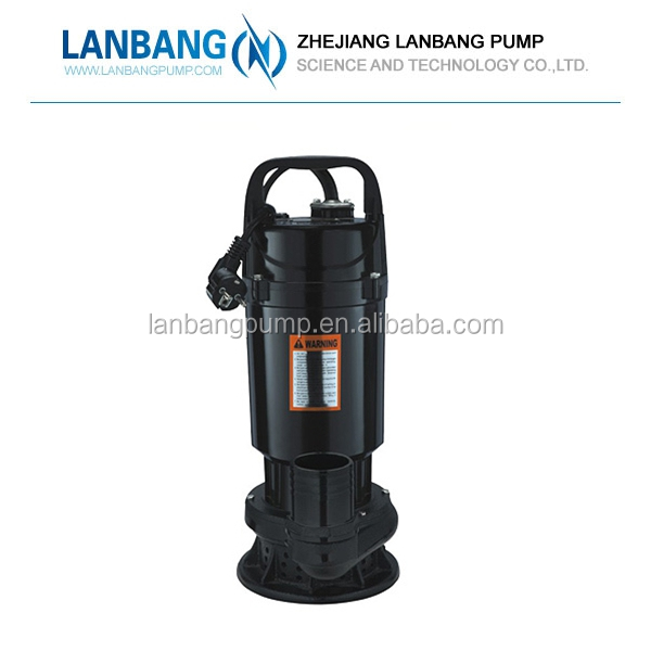 "QDX Submersible 2.5"" Water Pump ,Sewage 1hp Submersible Water Pump,Electric Power Submersible Pump"