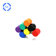 Super strong waterproof Round Neodymium Magnets with plastic cover