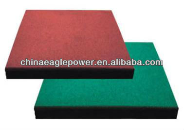 Safety Outdoor Rubber Tiles