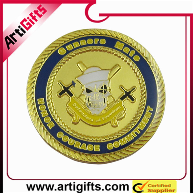 Custom sport award metal usa navy souvenir coin