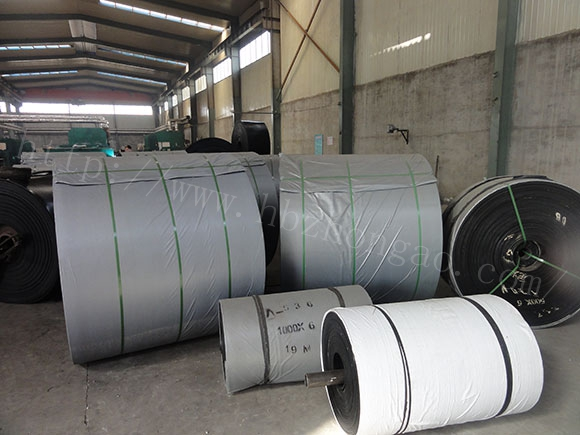 Abrasion Resistance Ep100-200 Canvas Rubber Industrial Conveyor Belt