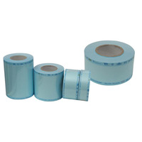 2017 Disposable sterilization paper/film rolls tube gusseted for instruments infection pack