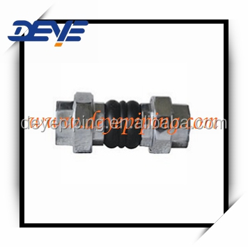 Union-type Rubber Expansion Joint with malleable iron union type