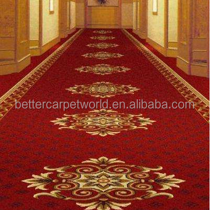 Wilton Design and Cut Pile Pattern used hotel carpet