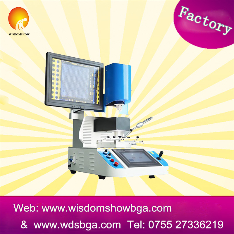 WDS-700 best quality and cost-effective lead-free repairing system bga soldering machine chip mount rework station