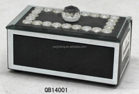rhinestones mirror trinket jewelry gift boxes