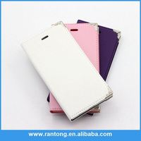 Factory direct sale special design leather cell phone case for iphone 6 from China