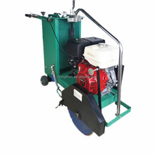 walk behind gasoline honda electric asphalt floor road used cutting machine concrete saw