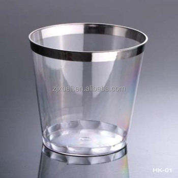 superior beer glass plastic ,disposable plastic water glass