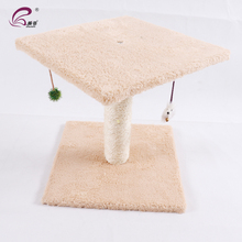 Cheap Natural Sisal Wooden Pet Cat Tree Climbing Cat Toy