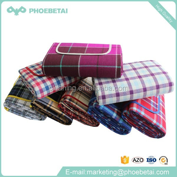 Wholesale large picnic camping acrylic waterproof outdoor blanket