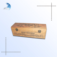 High quality antique small wine wooden box