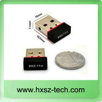 Portable 150m WiFi USB nano adapter/ USB wifi internet Networking /wireless wifi n adapter