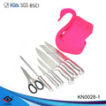 7pcs Hollow Handle Knife with new designed block