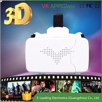 High Quality VR Case 3d Glasses Real Virtual Fit for 4.7/6 inches Smartphone