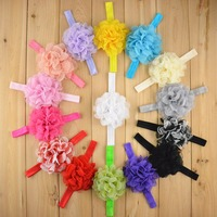 Baby Flower Headbands Infant Hair Band Baby Headwear Flower Hair Accessories Headbands For Baby A298