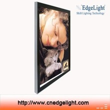 Edgelight AF12A magnetic type single side cambered shopping mall advertising sign for advertising display