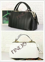 2013 fashion vintage OL noble crocodile pattern handbag doctor bag women's designer handbag 16747