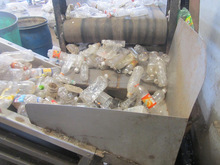 Waste Plastic PET Bottle flakes ( Ready to use)