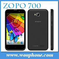 New arrival ZOPO ZP700 MTK6582 Quad Core Smartphone 4.7 Inch Android 4.2 Bluetooth 4.0 3G WIFI GPS And Multi- Colors