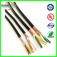 shielded cable 2464 cable 28AWG/6AWG/24AWG/22AWG wire UL 2464 computer cable