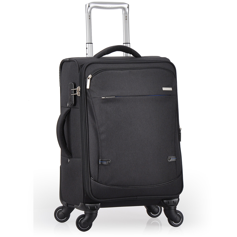 Guangzhou luggage bag suitcase with spinner wheel for promotion